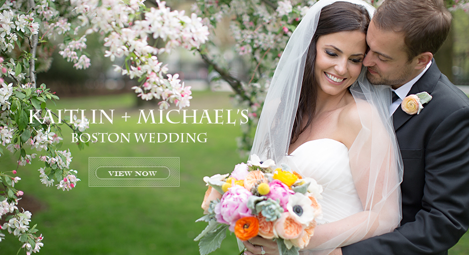 Kaitlin + Michael's Boston Wedding